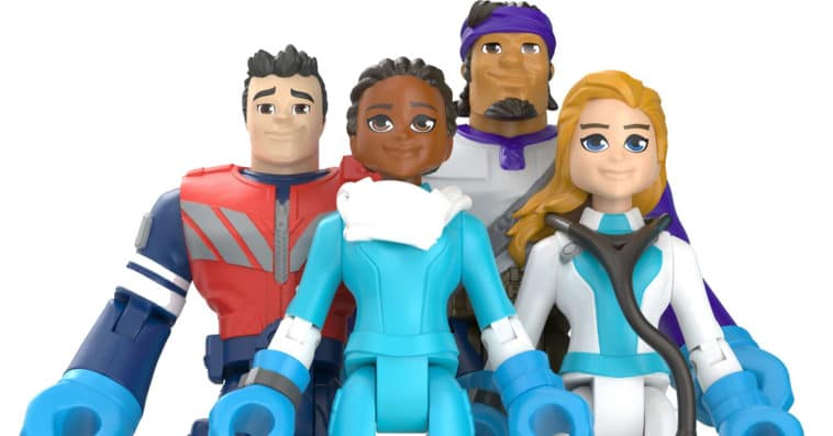 Mattel's 'Thank You Heroes' action figures honor COVID-19 essential workers 12