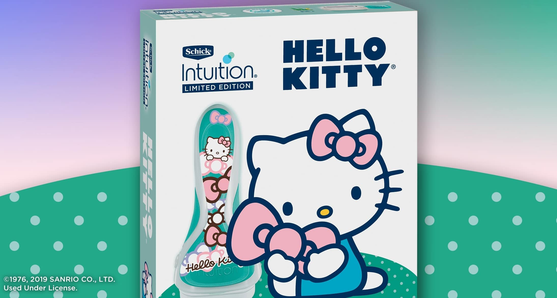 Schick Intuition reteams with Hello Kitty for two new limited-edition razors 15