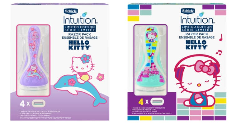 Schick Intuition reteams with Hello Kitty for two new limited-edition razors 12