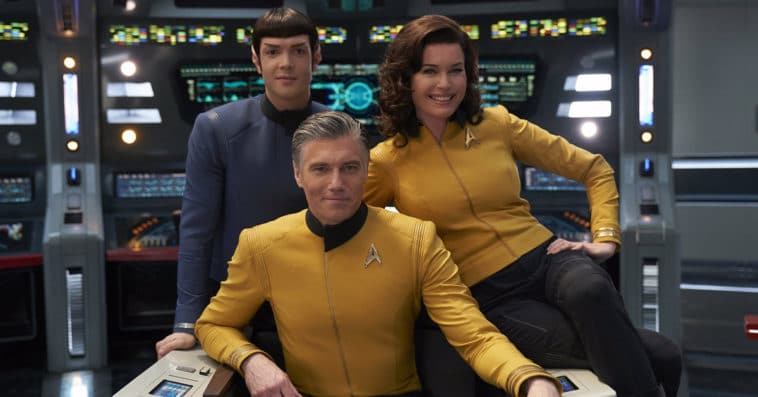 Star Trek: Strange New Worlds featuring Captain Pike and Spock gets a series order 20