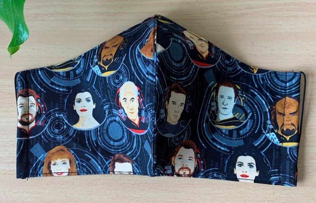 Star Trek face masks help Trekkies live long and prosper 15