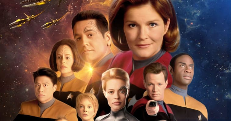 A Star Trek: Voyager 25th anniversary reunion is planned for later this month 11