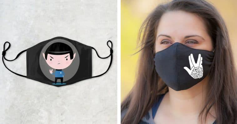 Star Trek face masks help Trekkies live long and prosper 12