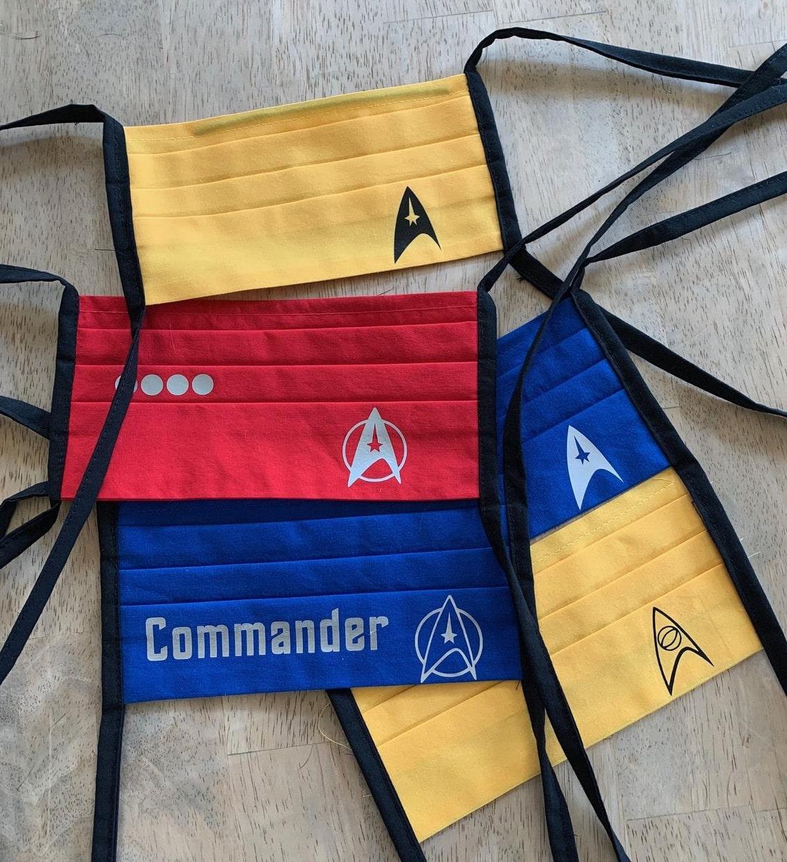 Star Trek face masks help Trekkies live long and prosper 17