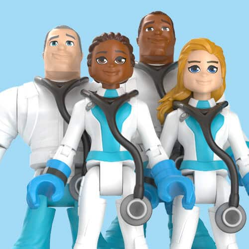 Mattel's 'Thank You Heroes' action figures honor COVID-19 essential workers 13