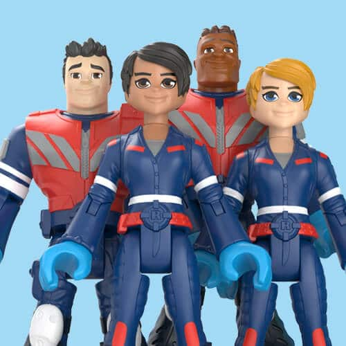 Mattel's 'Thank You Heroes' action figures honor COVID-19 essential workers 15