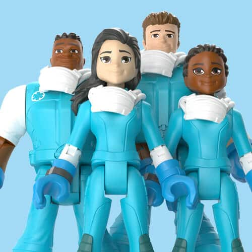 Mattel's 'Thank You Heroes' action figures honor COVID-19 essential workers 14