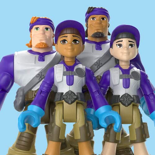 Mattel's 'Thank You Heroes' action figures honor COVID-19 essential workers 16