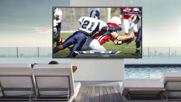 Samsung's Terrace TV is made for the outdoors 30