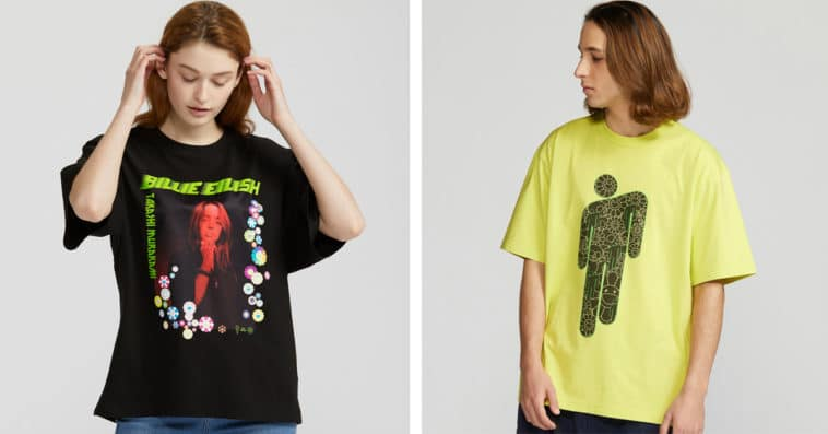 Uniqlo's Billie Eilish by Takashi Murakami collection is back in stock 13