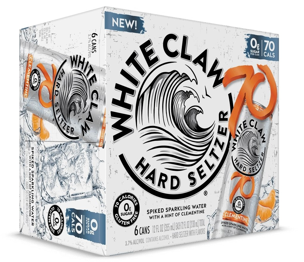 White Claw's clementine and pineapple flavors will quench your thirst this summer 14