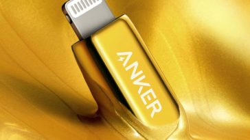 Anker's 24K gold-plated lightning to USB-C cable is Bad and Boujee 20