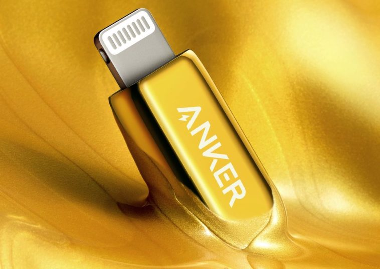 Anker's 24K gold-plated lightning to USB-C cable is Bad and Boujee 13