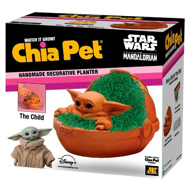 Baby Yoda is now a Chia Pet 16