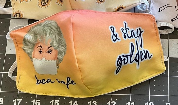 Stay golden with these Golden Girls face masks 16