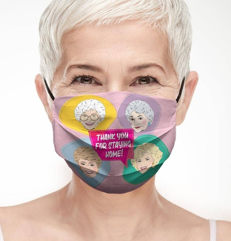 Stay golden with these Golden Girls face masks 15