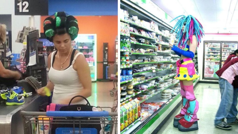 People who went grocery shopping in ridiculous outfits 12