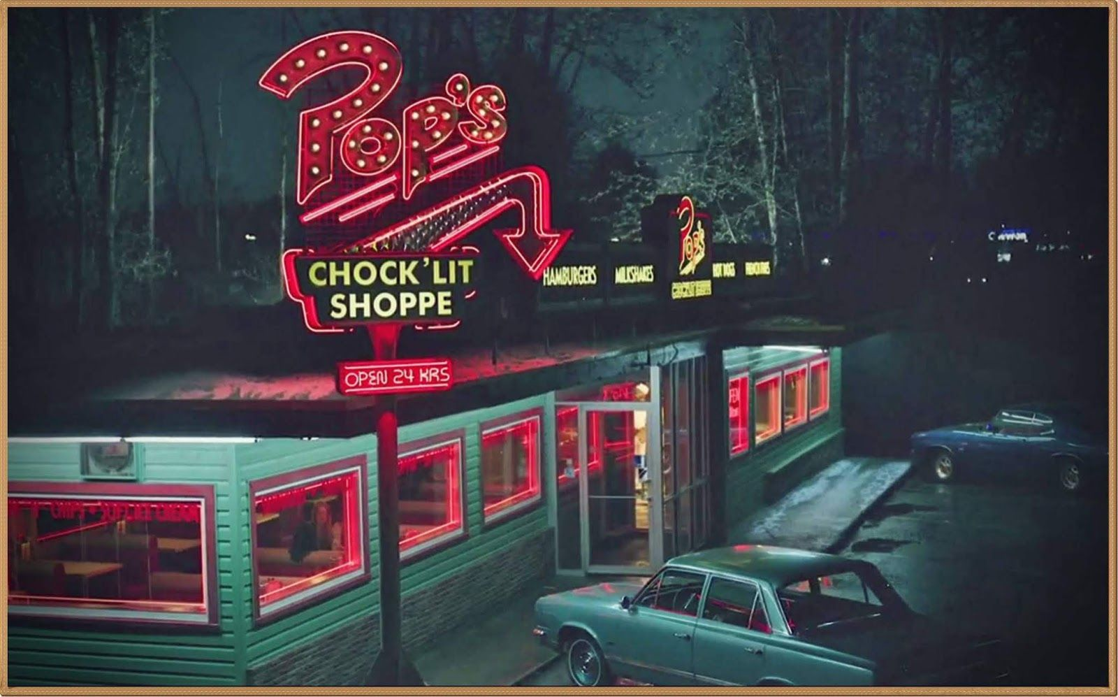 Which movie/TV series is this diner from? 24