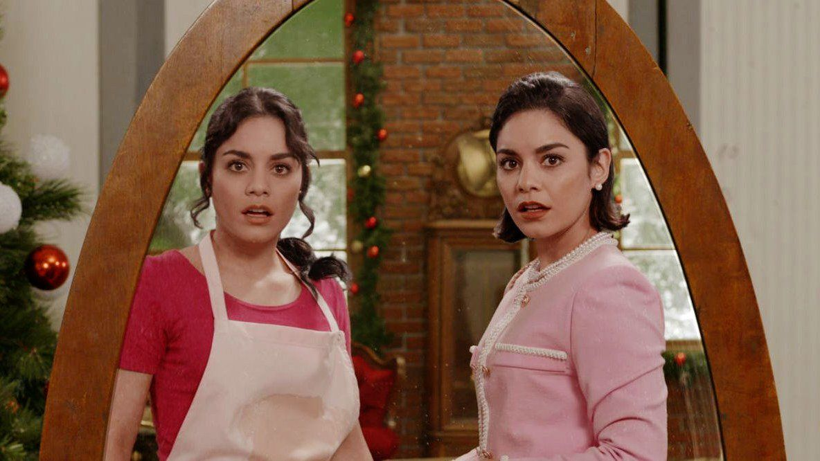 In which Netflix movie does Vanessa Hudgens' character find her royal doppelgänger? 65