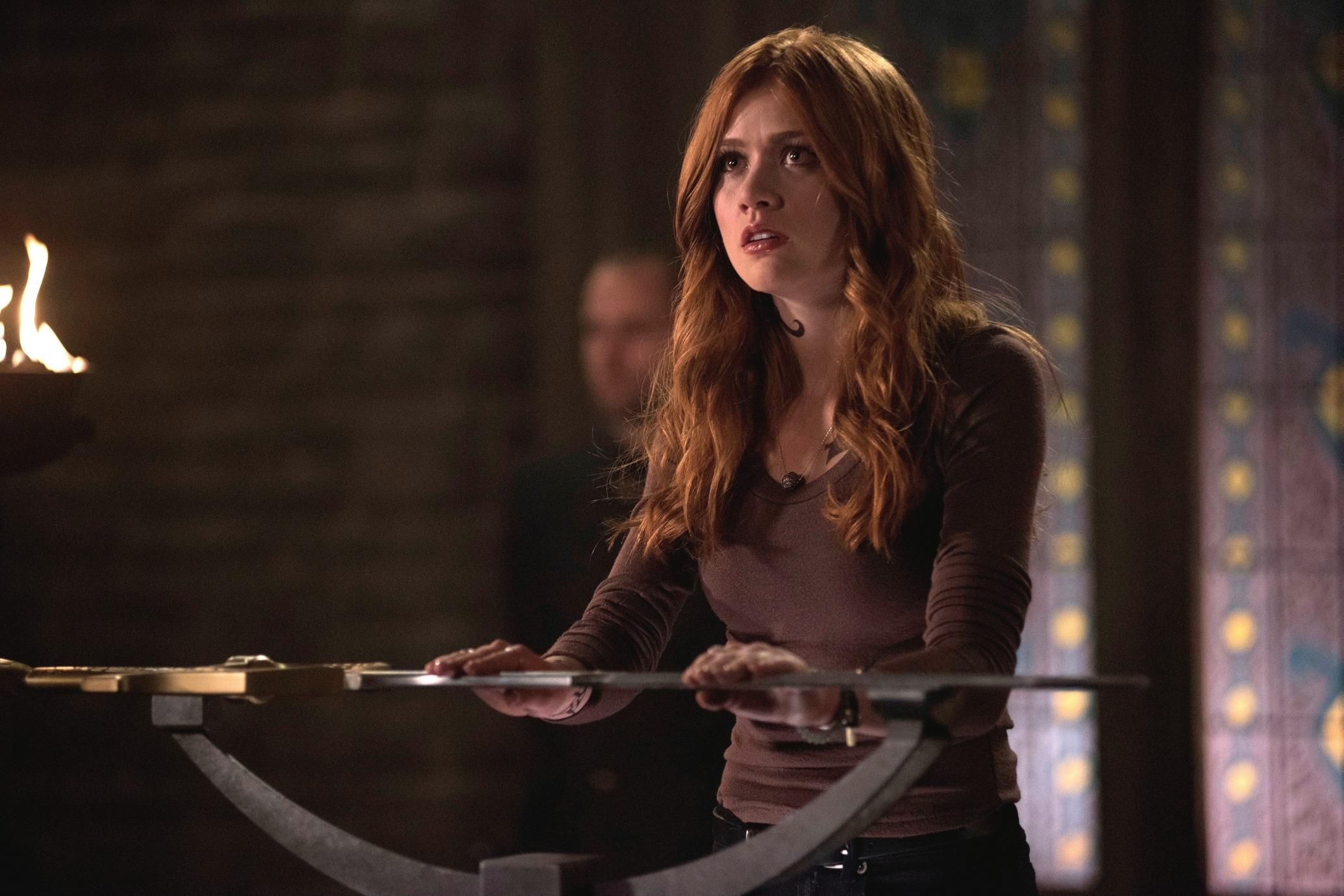 In the TV series, Shadow Hunters, Katherine McNamara portrays the role of Clary Fray. Who played the role in the movie adaptation? 28