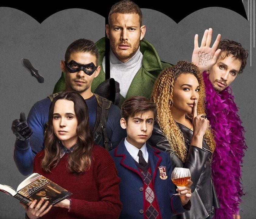 What are the names of the 7 protagonists in the Umbrella Academy? 32