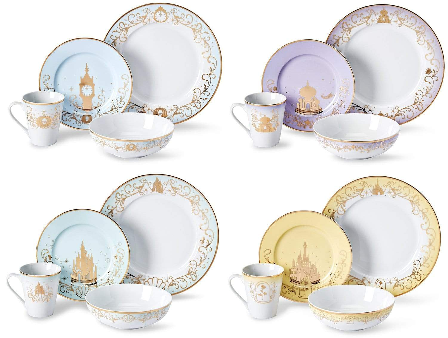 Elegant Disney Princess dinnerware collection features Frozen and Mulan 19