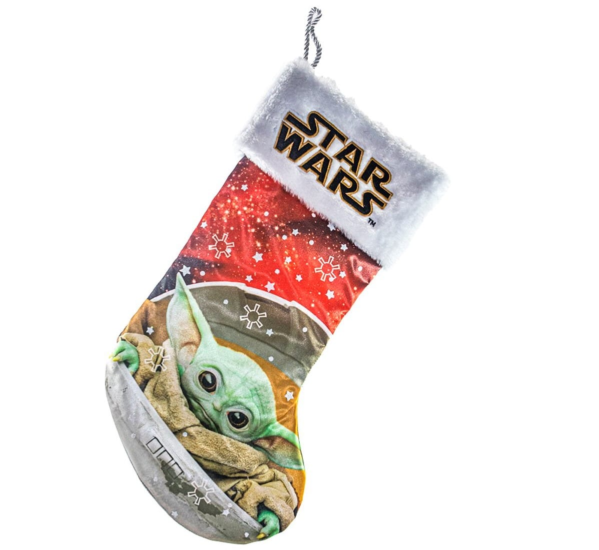 Baby Yoda Christmas stockings, nutcracker and snow globe make us feel like it's Christmas in June 15