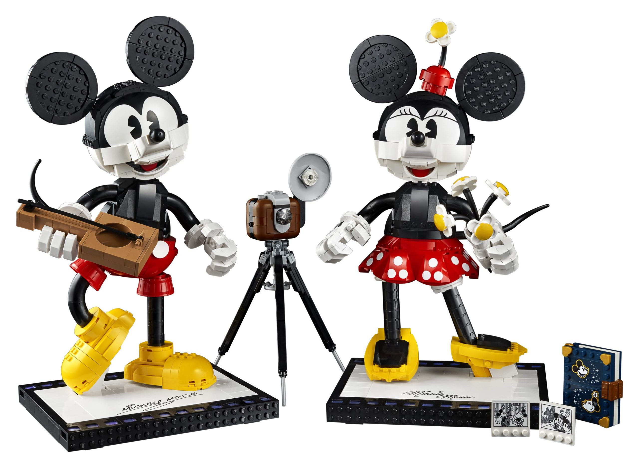 Lego Unveils Classic Mickey And Minnie Mouse Buildable Figures For Adults Geekspin
