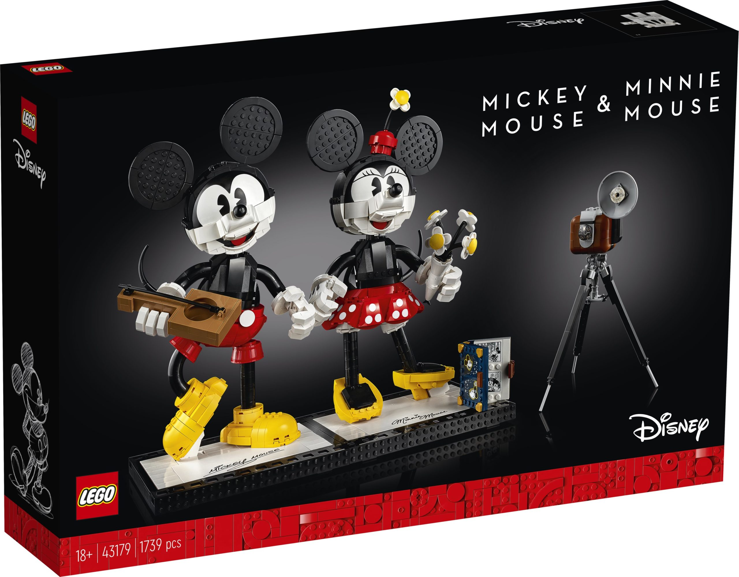 LEGO unveils classic Mickey and Minnie Mouse buildable figures for adults 15