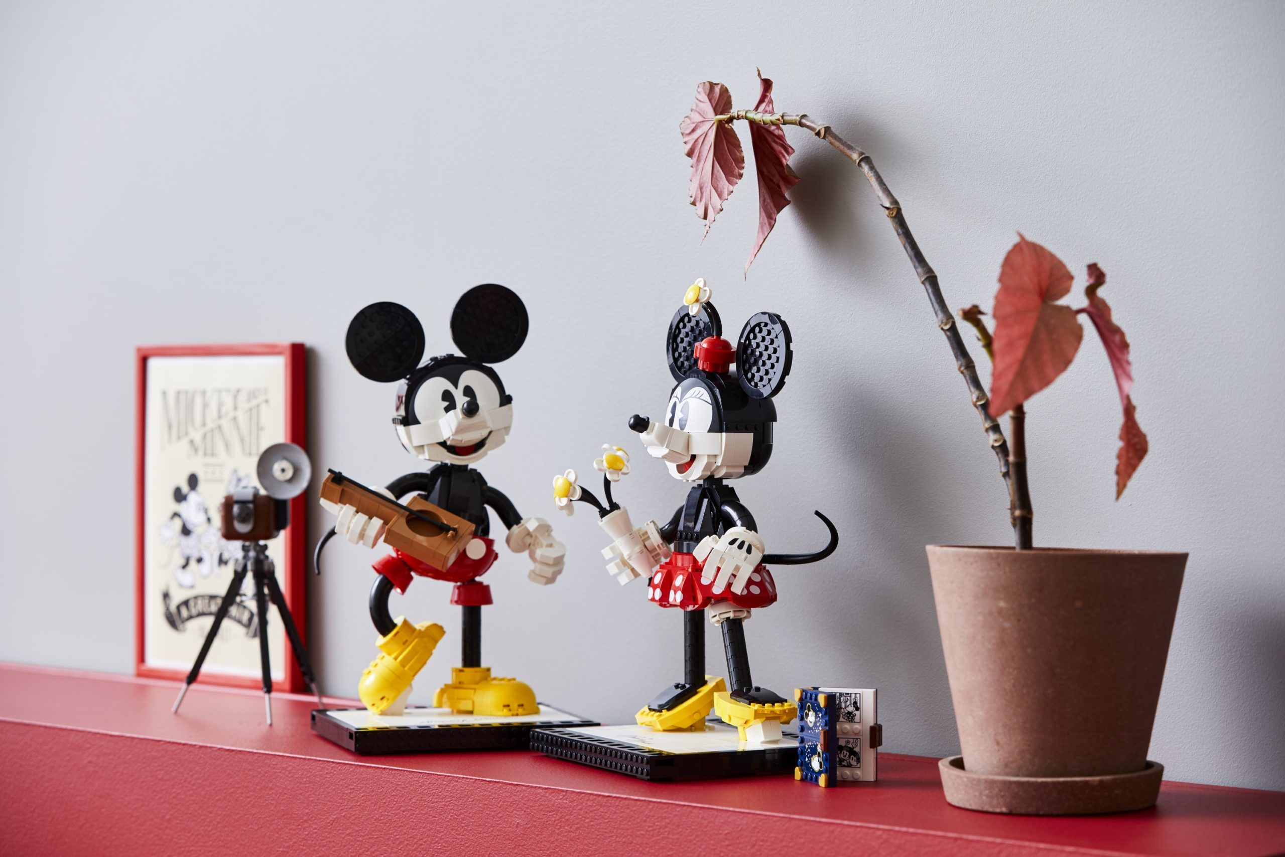 LEGO unveils classic Mickey and Minnie Mouse buildable figures for adults 14