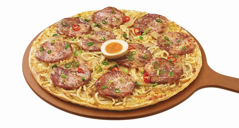 Ramen pizza is a real thing and it looks surprisingly tasty 12