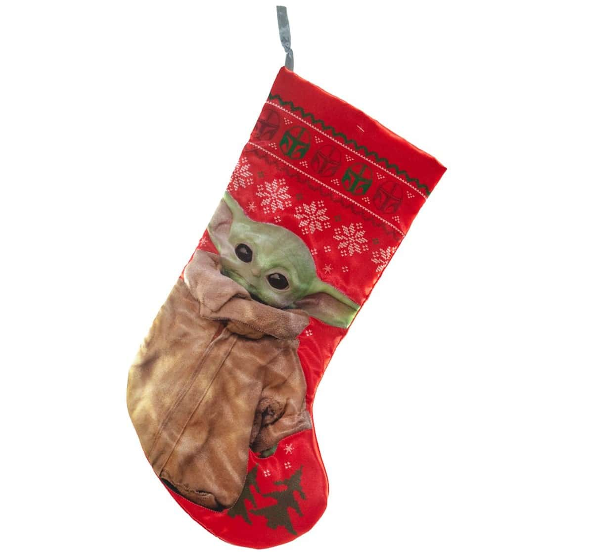 Baby Yoda Christmas stockings, nutcracker and snow globe make us feel like it's Christmas in June 11