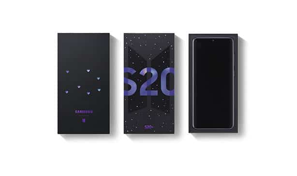 Samsung officially launches Galaxy S20+ and Galaxy Buds+ BTS Edition 14