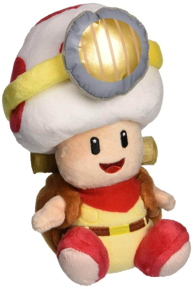 Adorable Super Mario Bros. plushes feature powered-up Luigi and Mario 17