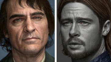 Celebs transformed into insanely realistic 3D characters 14