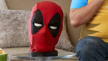 Deadpool interactive talking head is inappropriate and totally hilarious 15