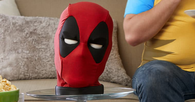 Deadpool interactive talking head is inappropriate and totally hilarious 12