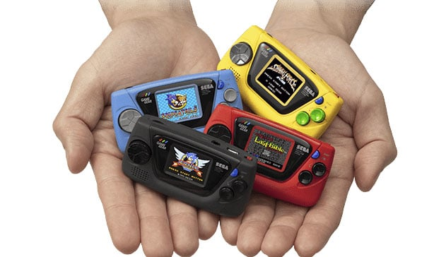Sega is bringing back the Game Gear as a Micro-sized handheld console 13