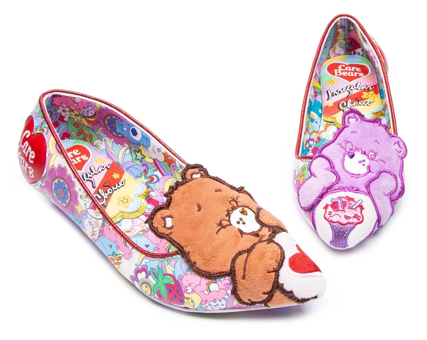 Irregular Choice Care Bears collection includes outrageous furry shoes 17