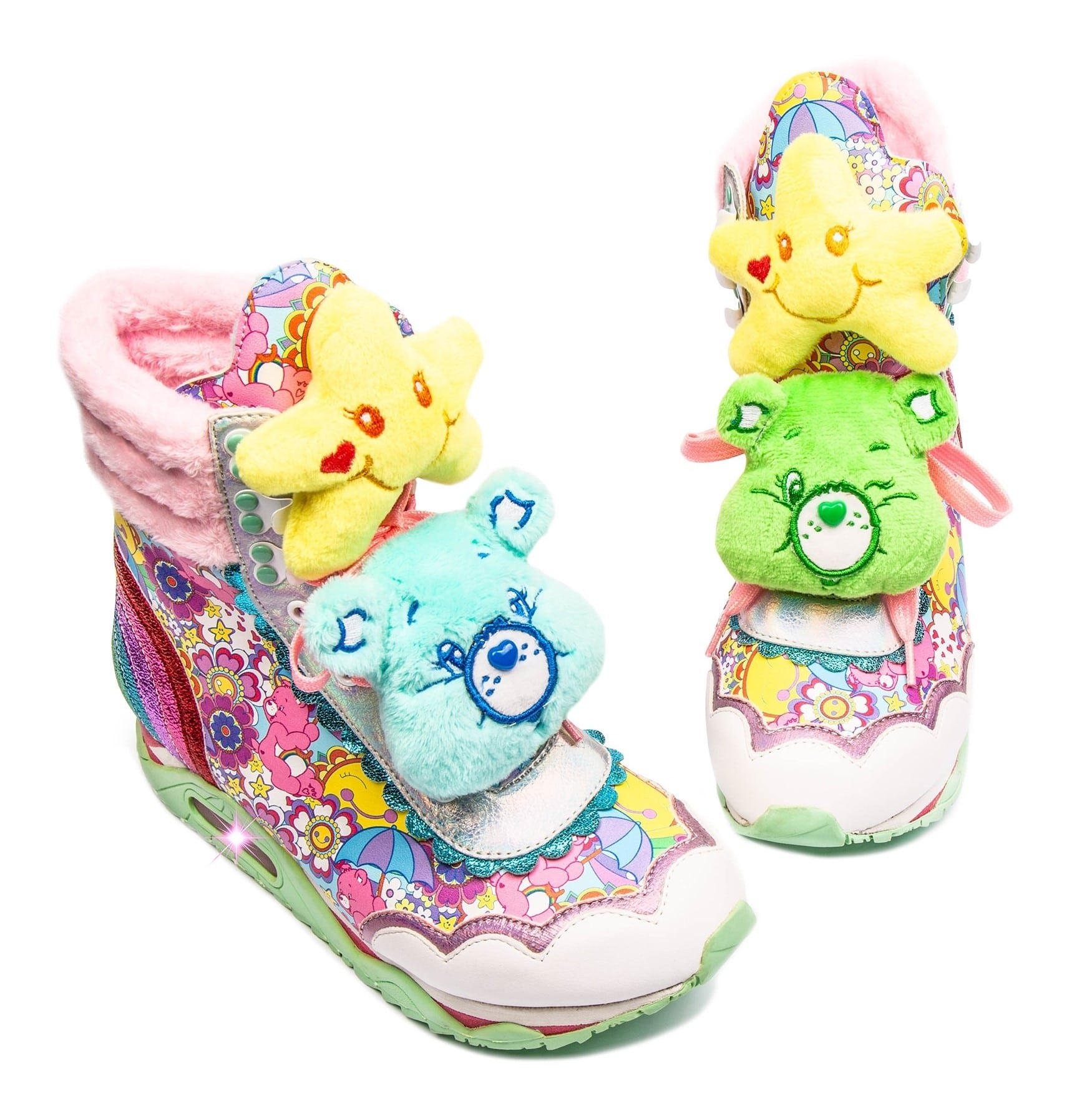 Irregular Choice Care Bears collection includes outrageous furry shoes 16