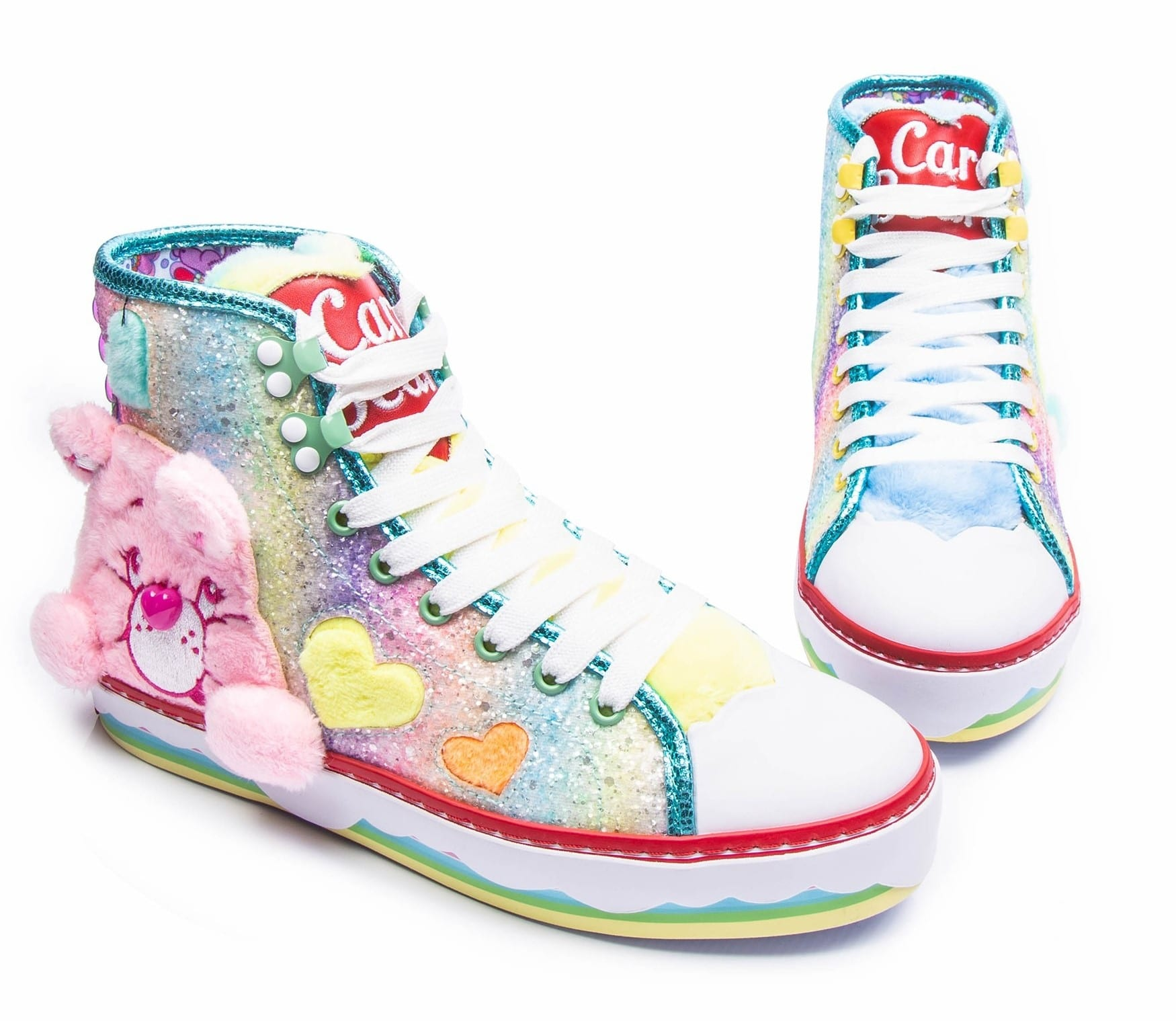 Irregular Choice Care Bears collection includes outrageous furry shoes 14