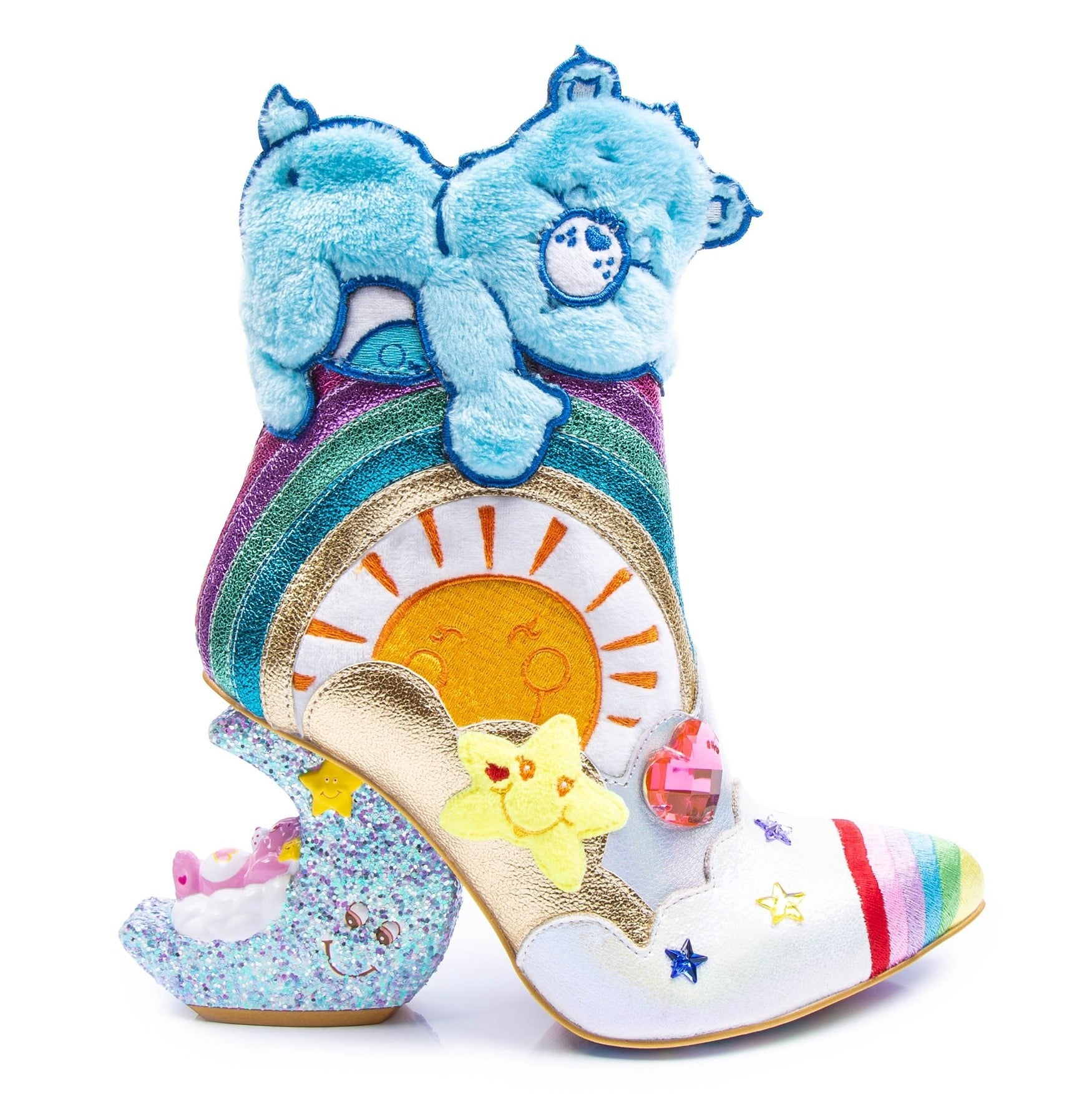Irregular Choice Care Bears collection includes outrageous furry shoes 19