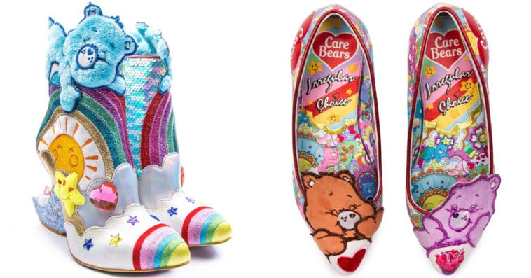 Irregular Choice Care Bears collection includes outrageous furry shoes 12