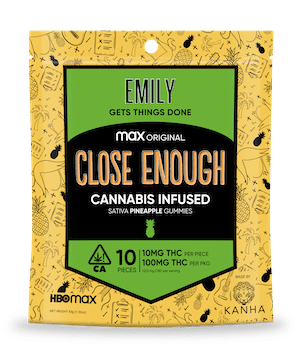 HBO Max promotes Close Enough series with cannabis-infused gummies 16