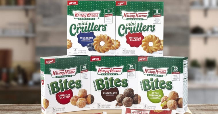 Krispy Kreme's Doughnut Bites and Mini Crullers are now available at Walmart 16
