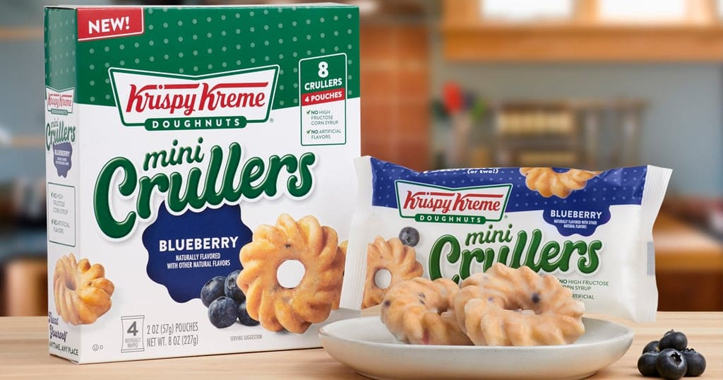 Krispy Kreme's Doughnut Bites and Mini Crullers are now available at Walmart 18