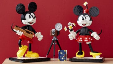 LEGO unveils classic Mickey and Minnie Mouse buildable figures for adults 13