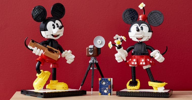 LEGO unveils classic Mickey and Minnie Mouse buildable figures for adults 12