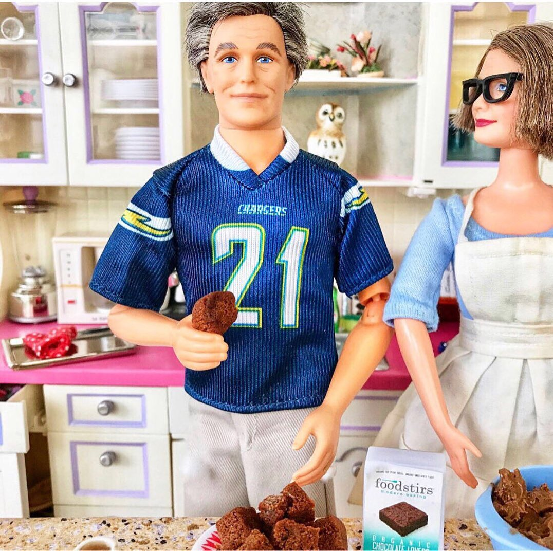 Artist shows how Barbie dolls have adjusted to life in quarantine 13
