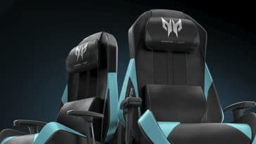 Acer's Predator Gaming Chair x OSIM gives you a massage while you're playing 17